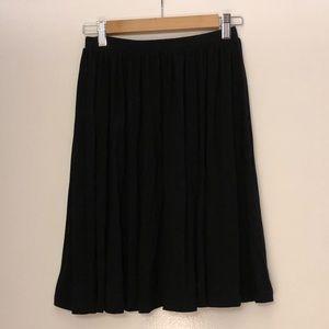 ASOS Black Soft Flair Skirt